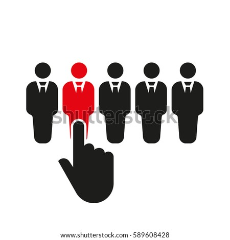 Recruitment Icon Stock Images Royalty Free Images