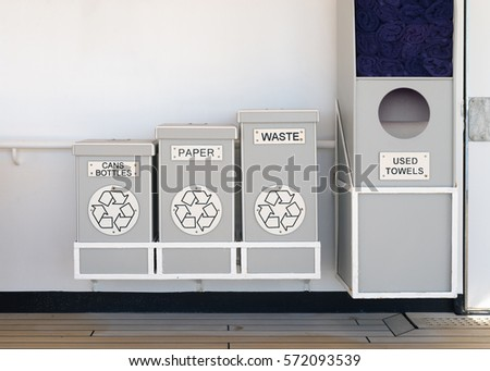 stock-photo-recycle-bins-for-cans-bottle