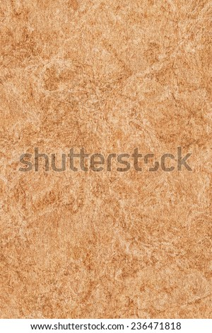Recycle Brown Paper, coarse grain, blotted, mottled grunge texture sample. - stock photo