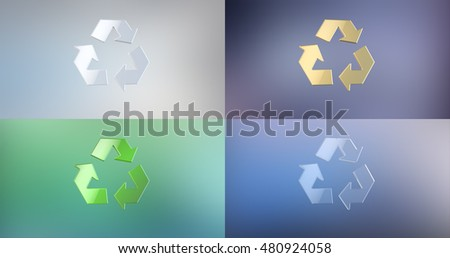 Recycle 3d Icon