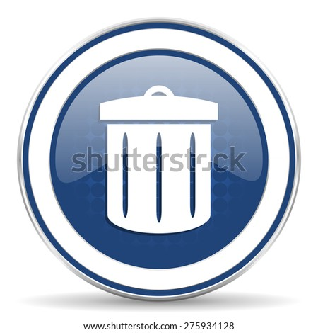 recycle icon recycle bin sign  - stock photo