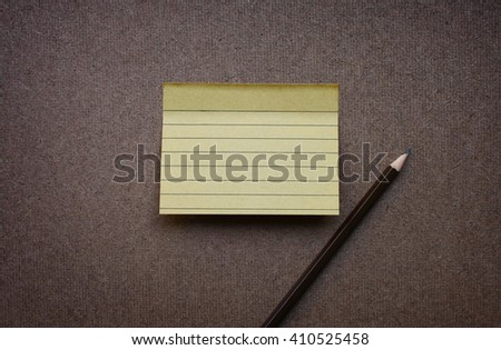 recycle reminder sticky note on wood board.(blank post it note)  - stock photo