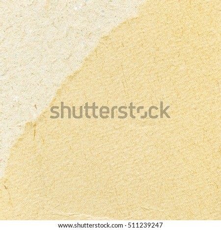 Recycled light paper texture. Background with space for text