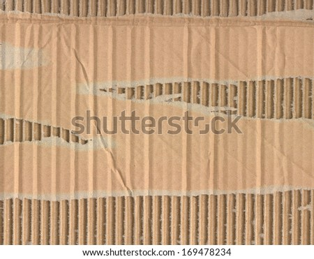 recycled nature colored cardboard paper texture. abstract background
