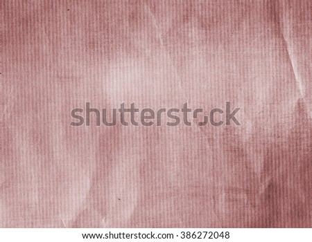 Recycled paper sheet for eco or vintage design - stock photo