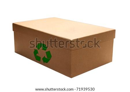 Recycling box - stock photo