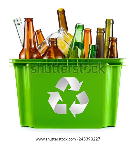 Glass Recycling Stock Images, Royalty-Free Images ...