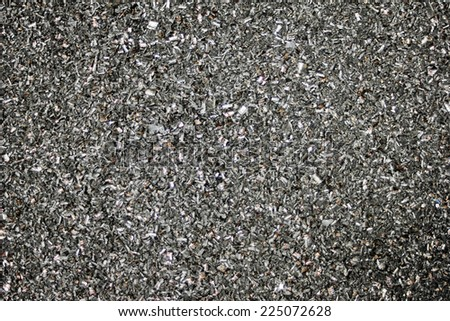 Recycling swarf - stock photo