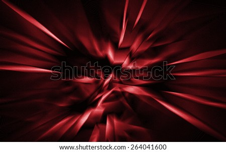 Red Abstract - stock photo