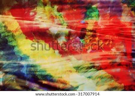 Red abstract background or Interesting abstract background, Colorful abstract background, Fall background - stock photo
