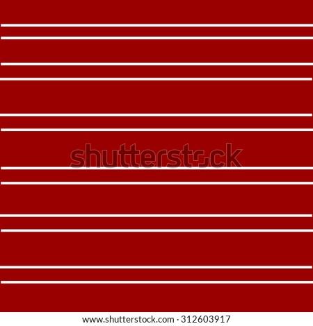 Red abstract background with stripes of white suitable for T-shirt design