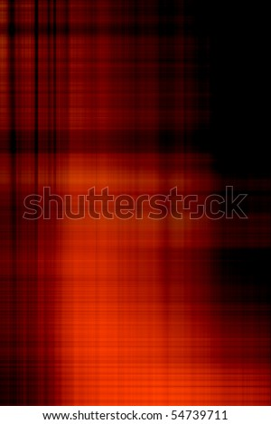 Red and black abstract background - stock photo