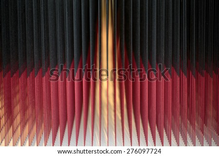 Red and black abstract glowing background - stock photo