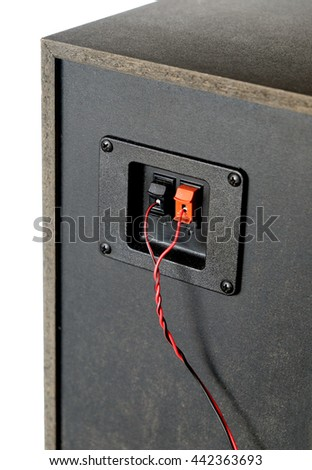 how to connect red and black wire