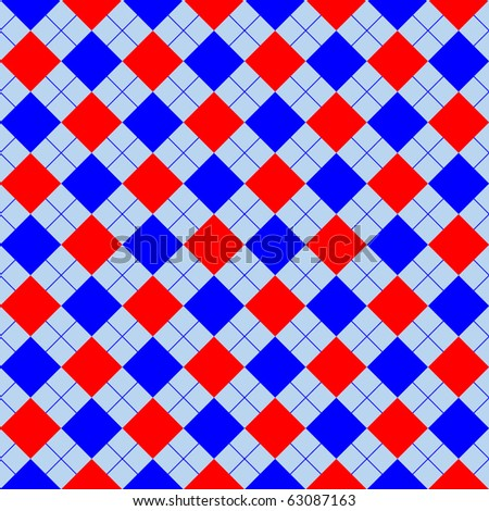 red and blue sweater texture, abstract  art illustration; for vector format please visit my gallery - stock photo