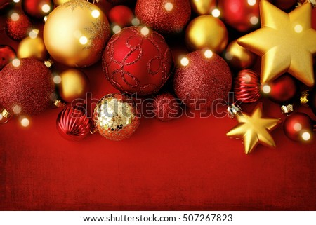 Red Christmas Ornament Stock Images, Royalty-Free Images & Vectors ...