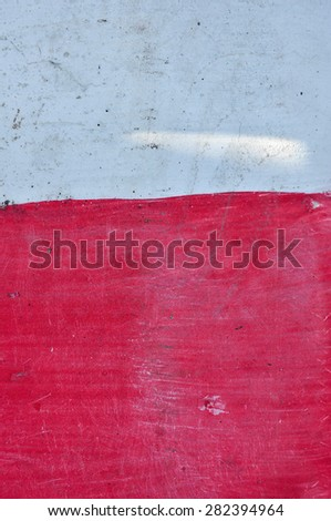 red and white background - stock photo