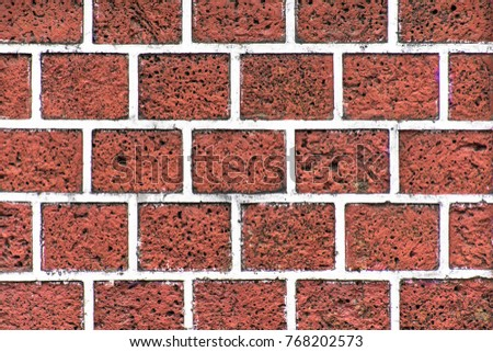 Red And White Brick Wall Background Grunge Texture Black WallpaperRed Paving
