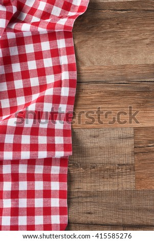 red white checkered table cloth on stock photo 415585276 - shutterstock