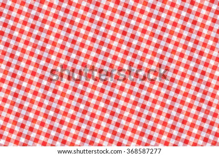 Red and white computer generated abstract geometric pattern as texture and background