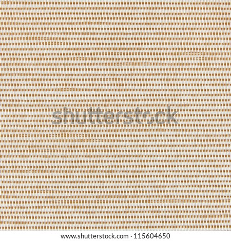 Red and white fabric texture background - stock photo