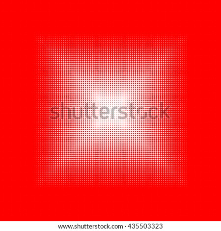 red and white halftone texture background, circles pattern for logo design, banners, posters, wallpapers, web, presentations and prints. digital illustration