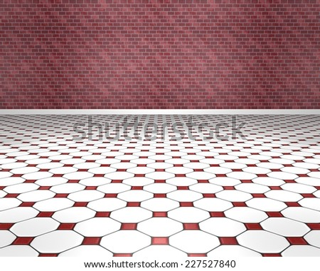 Red Tile Floor Stock Photos Images Pictures Shutterstock