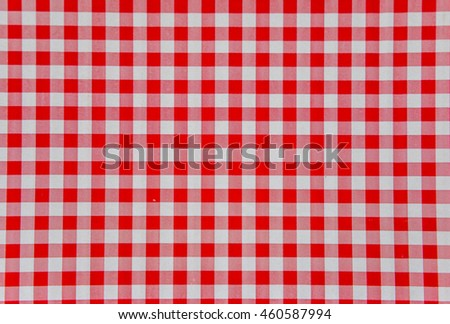 Red and white tile background