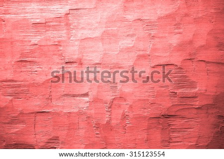 red axe hewn background - stock photo