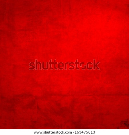 red background canvas fabric or paper texture, may use as grunge christmas background or valentines day background