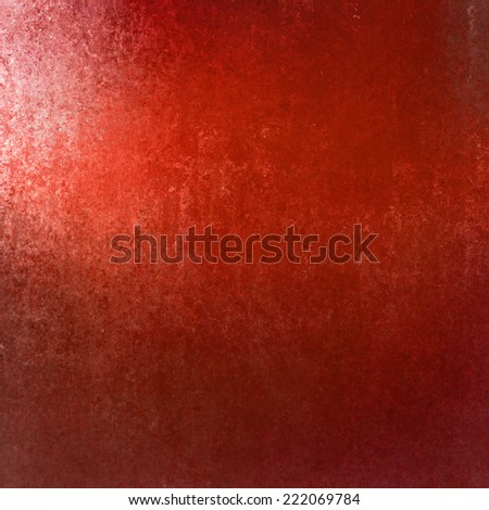 red background. sunny bright color in corner copyspace - stock photo