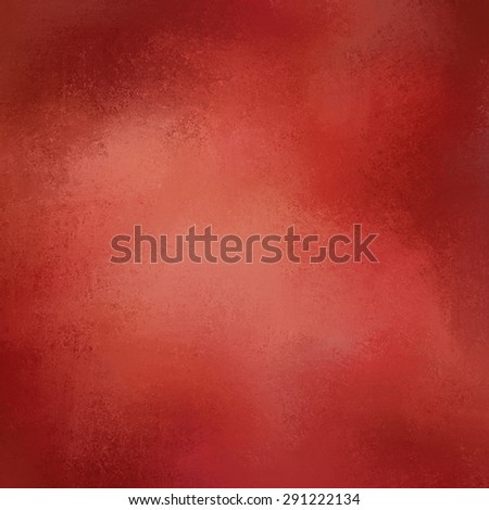 red background texture paper, faint rustic black vignette grunge border paint design, solid red Christmas color background - stock photo