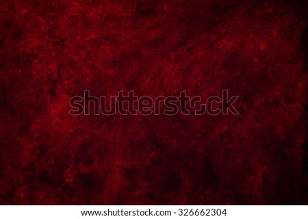 Red background texture with cement wall texture  - stock photo