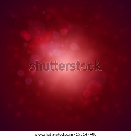 Red background with defocused lights - raster version - stock photo