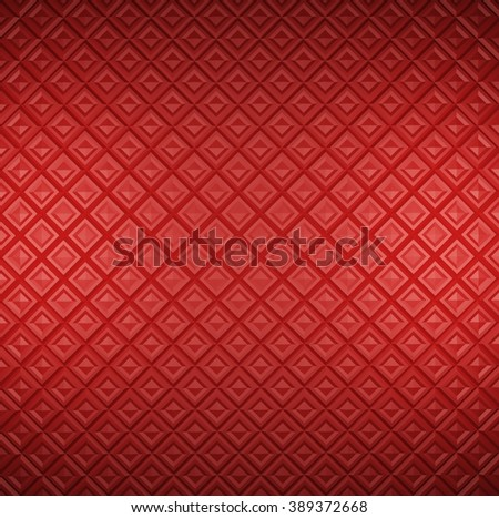 red background with tiles