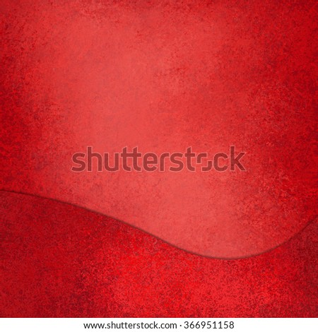 red background with wave design element - stock photo