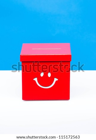 red ballet box