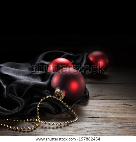 red balls  - stock photo