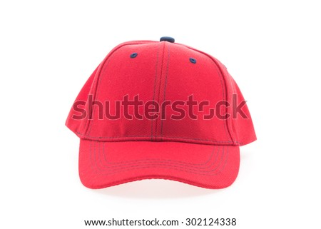 red white and blue camo baseball hats cap with p black hat stock photo isolated background