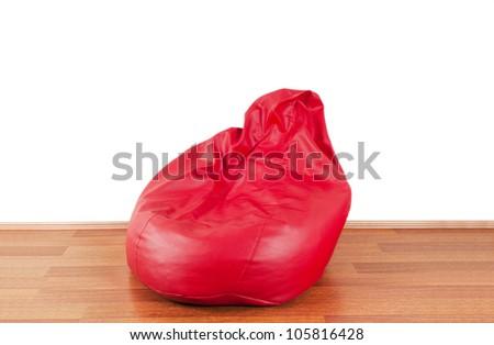 Red Bean Bag - stock photo