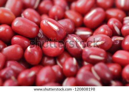 red beans close up , great for background and health food concept - stock photo