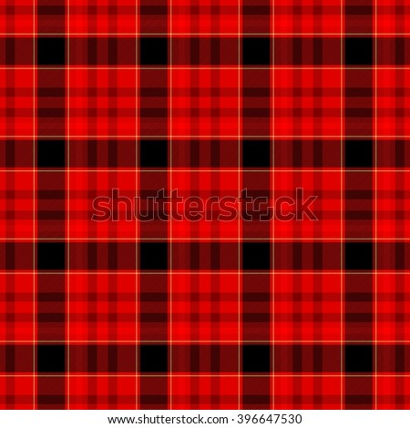 red black brown yellow check diamond tartan plaid fabric seamless pattern texture background - stock photo