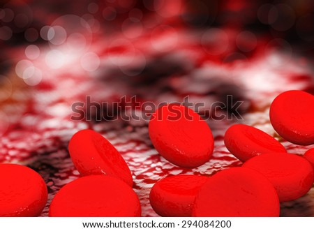 Red Blood Cells - stock photo