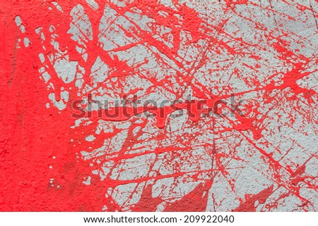 red blood like colored background - stock photo