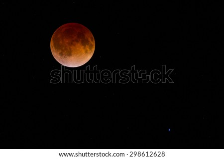 blood moon lunar eclipse virgo - photo #46