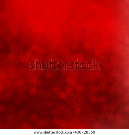 Red Bokeh background with defocused lights. Design for your cards, brochures, cover, flyers, banners, posters etc. - stock photo