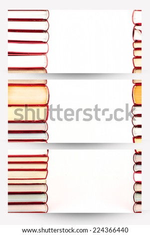 red books banners - stock photo