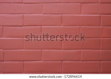 Red brick wall seamless Vector illustration background - texture pattern for continuous replicate. - stock photo