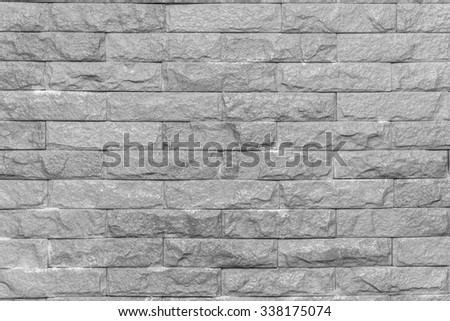 Red brick wall with glossy surface