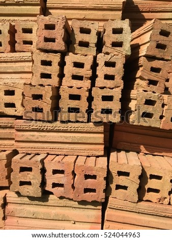 Red Bricks for Construction
